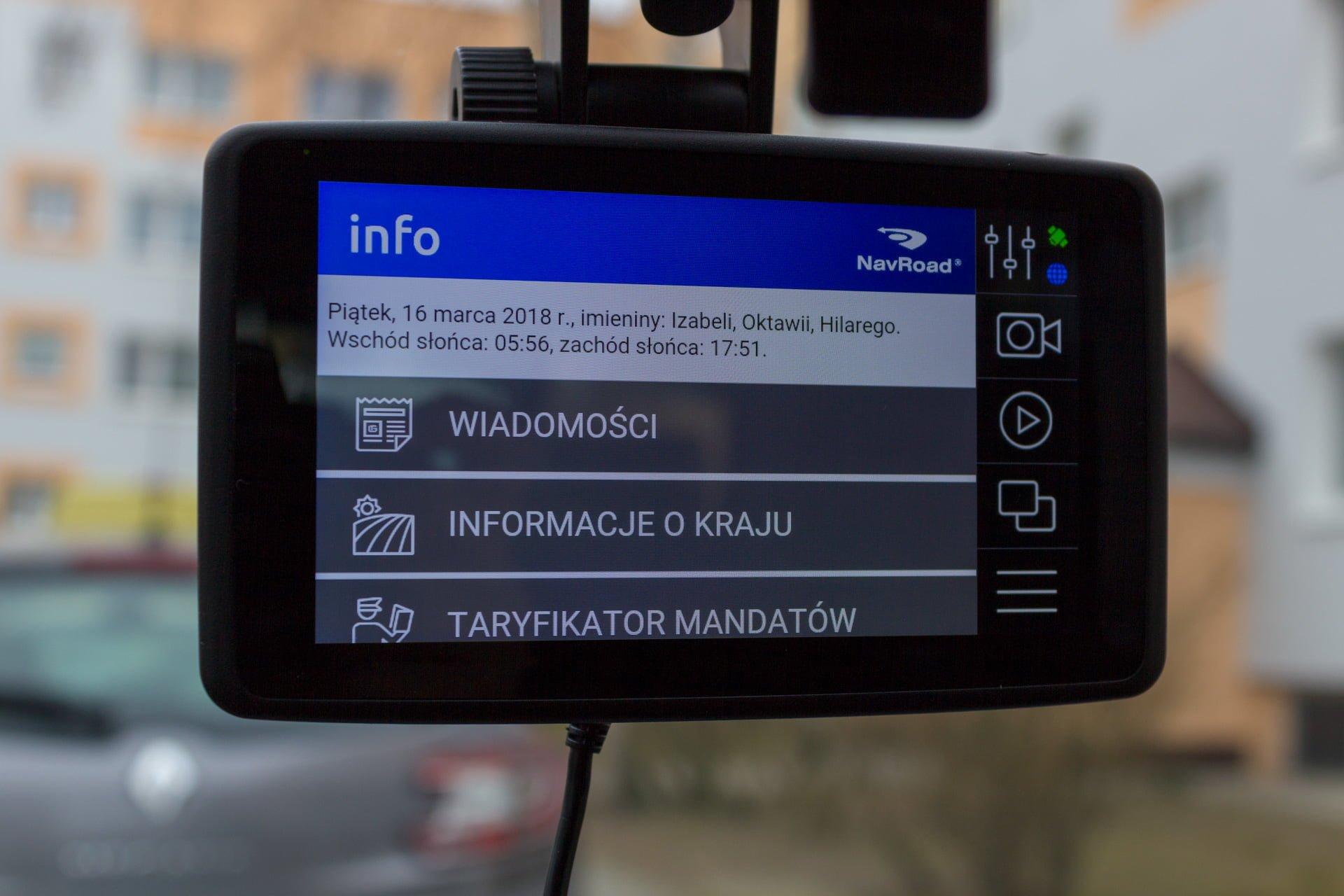 Recenzja NavRoad UNI, czyli co się stanie, gdy nawigacja spotka smartfona i kamerę 32