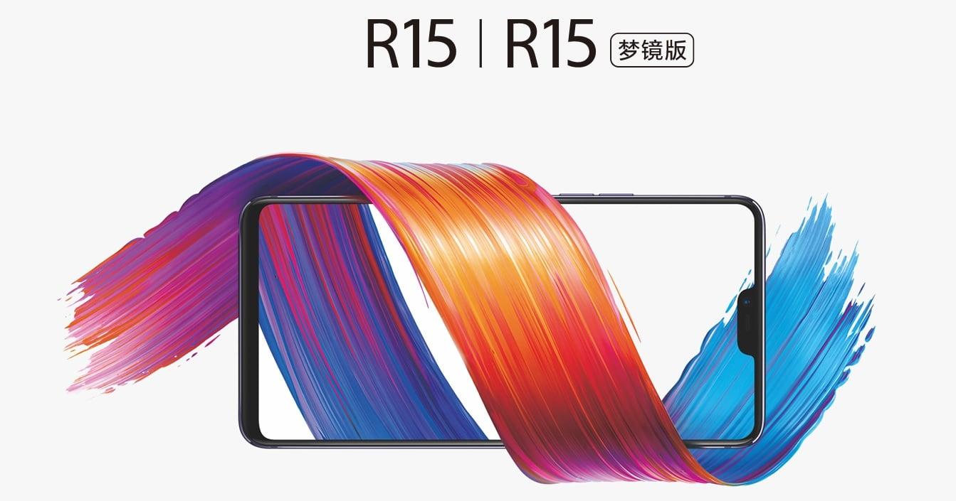 Tabletowo.pl Oppo R15 i Oppo R15 Dream Mirror Edition oficjalnie. Jeden z nich zapewne jest pierwowzorem OnePlus 6 Android Nowości Oppo Smartfony