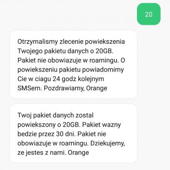 Tabletowo.pl Orange świętuje na całego i dlatego daje po 20 GB internetu każdemu użytkownikowi usług mobilnych GSM Promocje