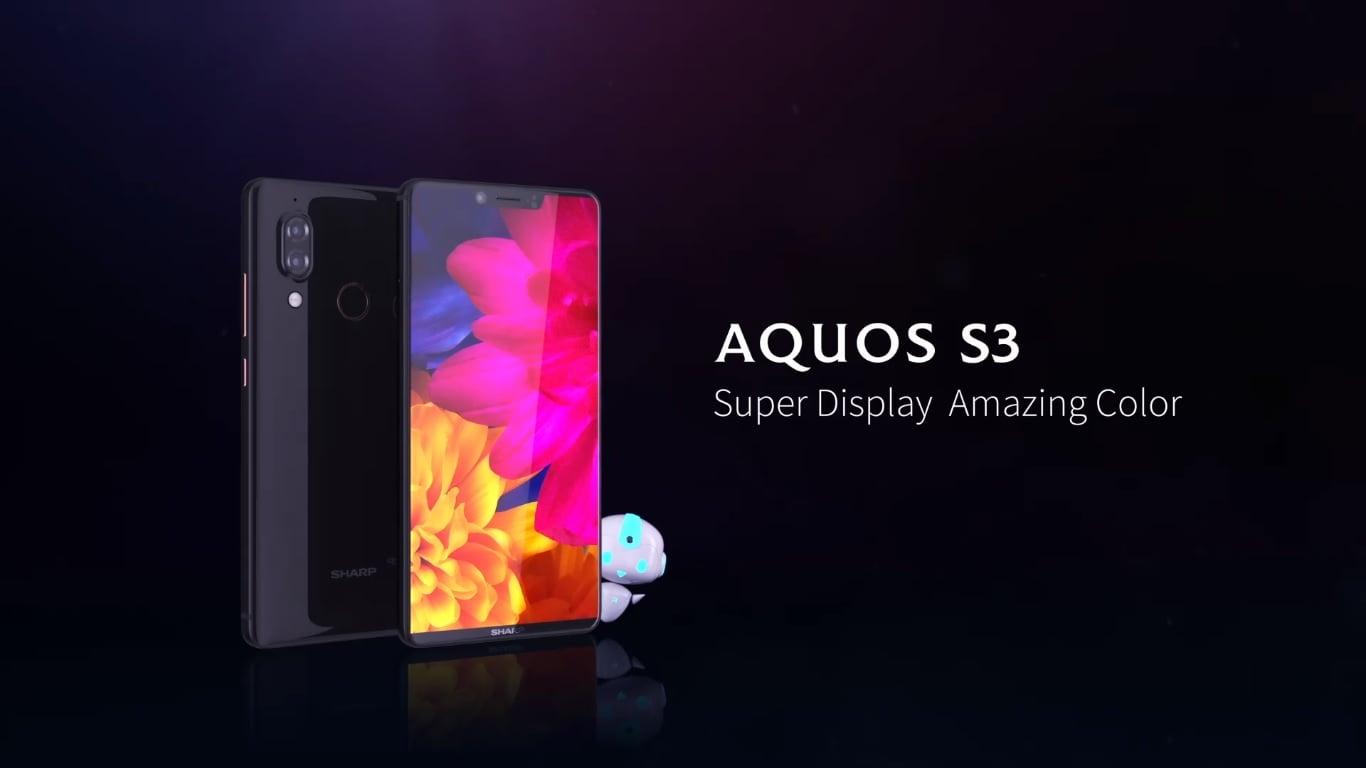 """Tabletowo.pl Sharp Aquos S3 oficjalnie zaprezentowany. To aktualnie najbardziej """"bezramkowy"""" smartfon na rynku Android Nowości Sharp Smartfony"""