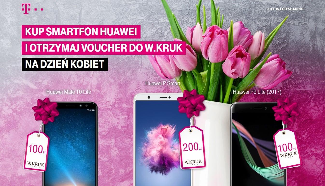 Tabletowo.pl Panowie, to promocja dla Was: przy zakupie smartfona Huawei T-Mobile dorzuca na Dzień Kobiet bon do jubilera Android GSM Huawei Promocje Smartfony
