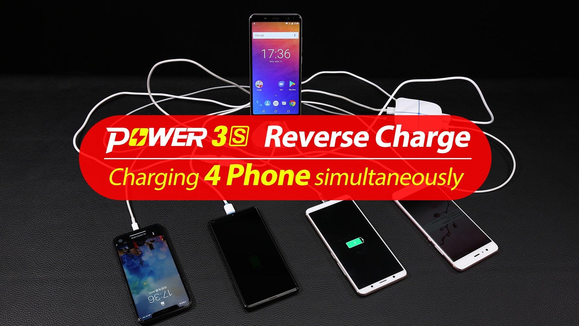 Tabletowo.pl Ulefone Power 3S to prawdziwy kozak - potrafi ładować nawet cztery inne smartfony jednocześnie Android Chińskie Smartfony