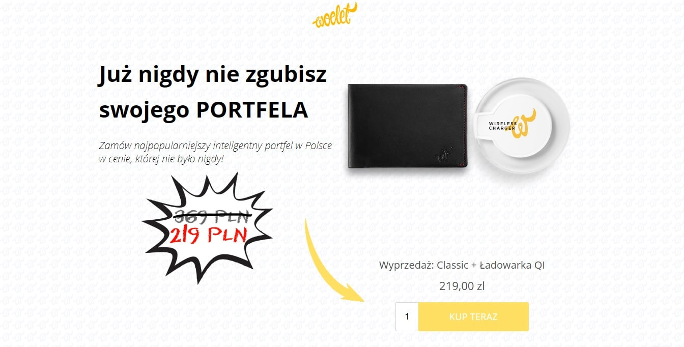 Tabletowo.pl Trwa wyprzedaż inteligentnego portfela Woolet Classic z ładowarką Qi. Mamy dla Was dodatkowy rabat! Akcesoria Promocje