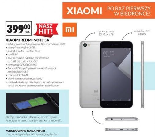 To się nie ma prawa nie sprzedać: Xiaomi Redmi Note 5A w Biedronce za 399 złotych od następnego piątku! 17
