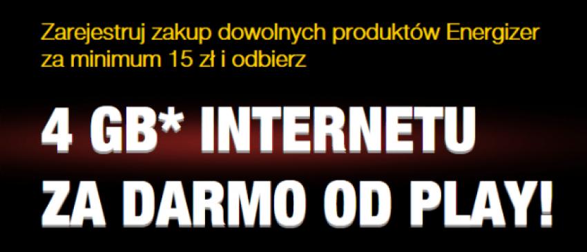 Tabletowo.pl Kupując baterie, upewnij się, że to Energizery. Wtedy dostaniesz darmowe gigabajty od Play GSM Promocje