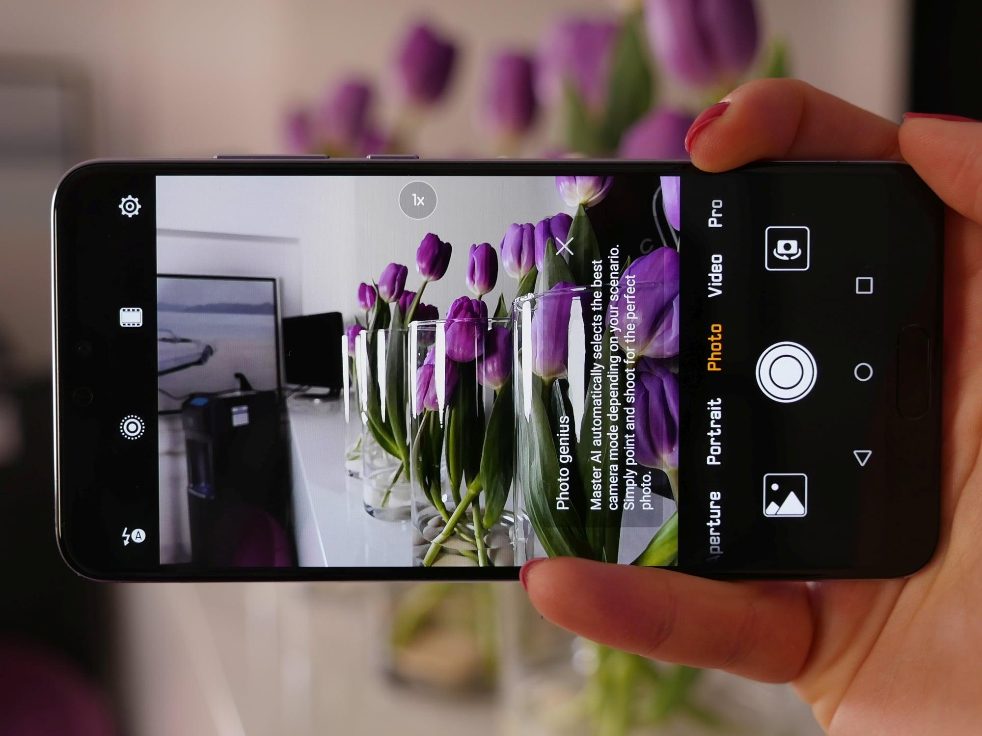 Huawei za wszelką cenę chce udowodnić, że ma najlepszy aparat w smartfonie. I może mu się udać. P20 Pro - pierwsze wrażenia 37