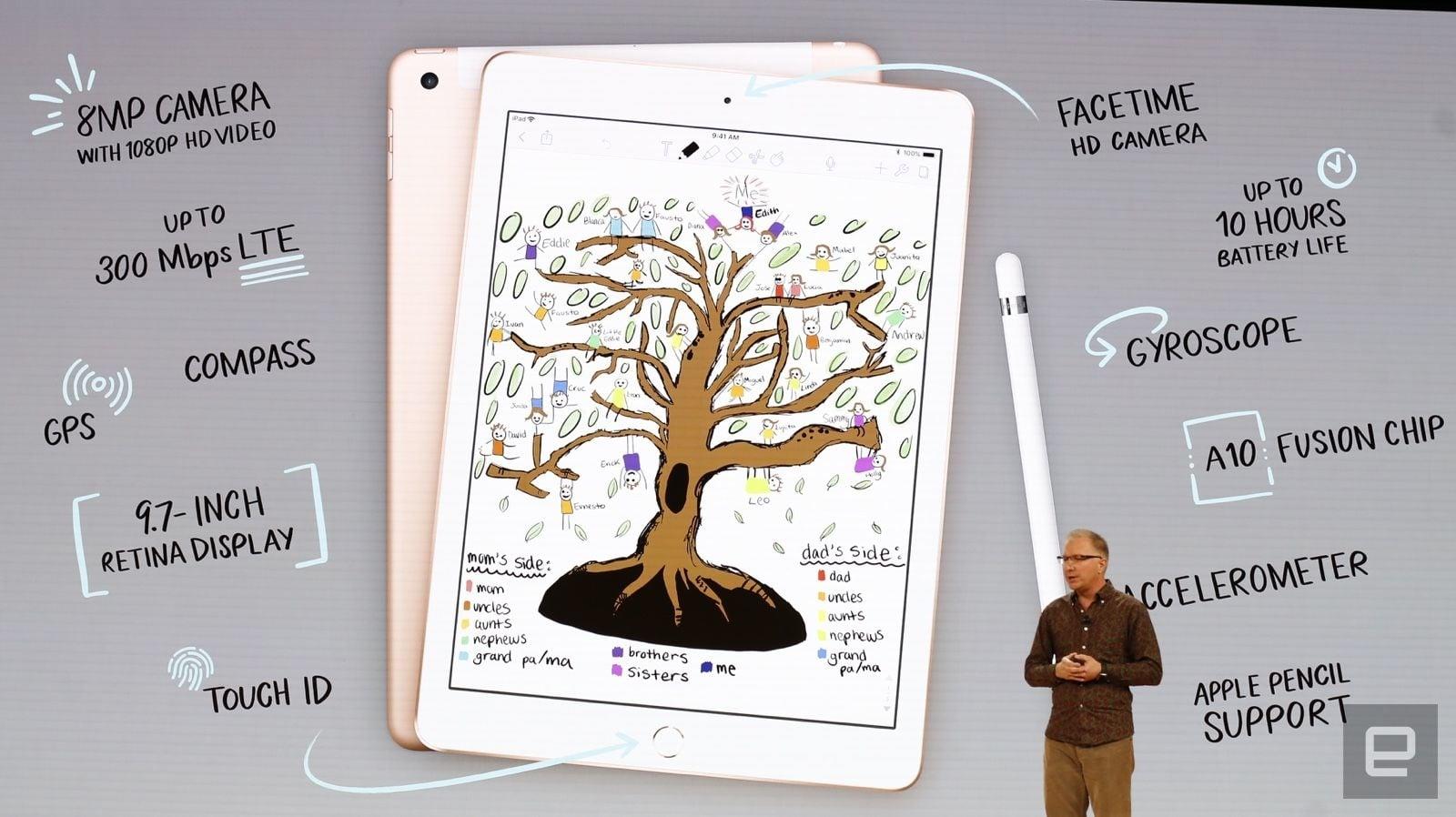 Niespodzianka w imię edukacji - nowy, 9,7-calowy iPad ze wsparciem dla Apple Pencil 20