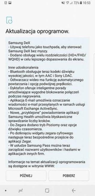 Tabletowo.pl Cierpliwość popłaca - Android Oreo trafia na Samsunga Galaxy Note 8 Aktualizacje Samsung Smartfony