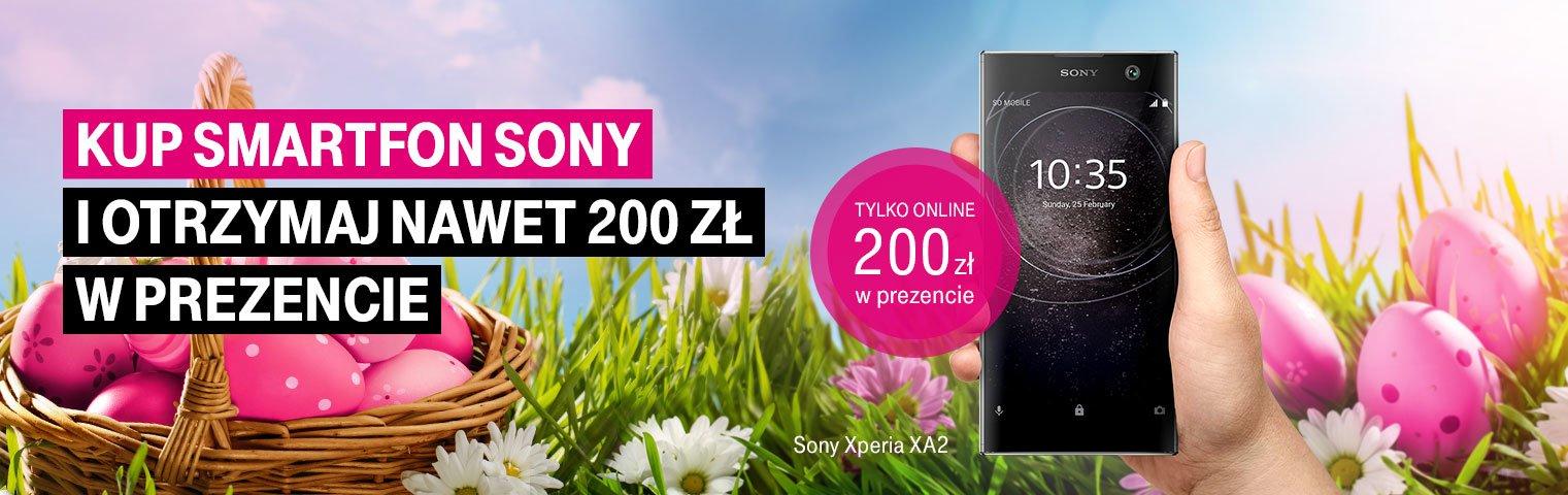 Promocja w T-Mobile: dostaniesz zwrot do 200 złotych za zakup smartfonów Sony Xperia 23
