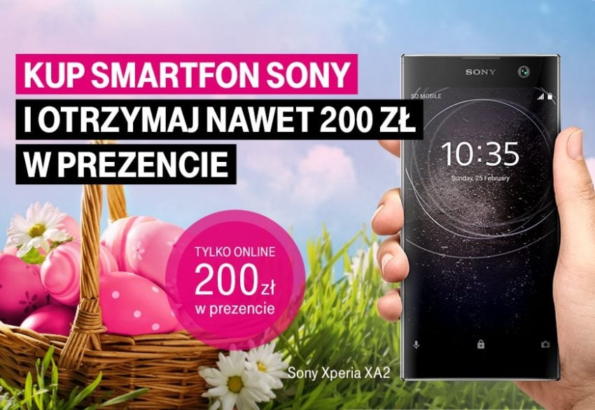 Tabletowo.pl Promocja w T-Mobile: dostaniesz zwrot do 200 złotych za zakup smartfonów Sony Xperia GSM Promocje Sony