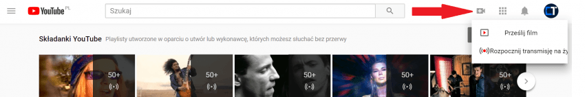 Tabletowo.pl YouTube pozwoli na transmisję na żywo bezpośrednio ze smartfona. I testuje tryb pływającego okna w przeglądarce Aplikacje Google