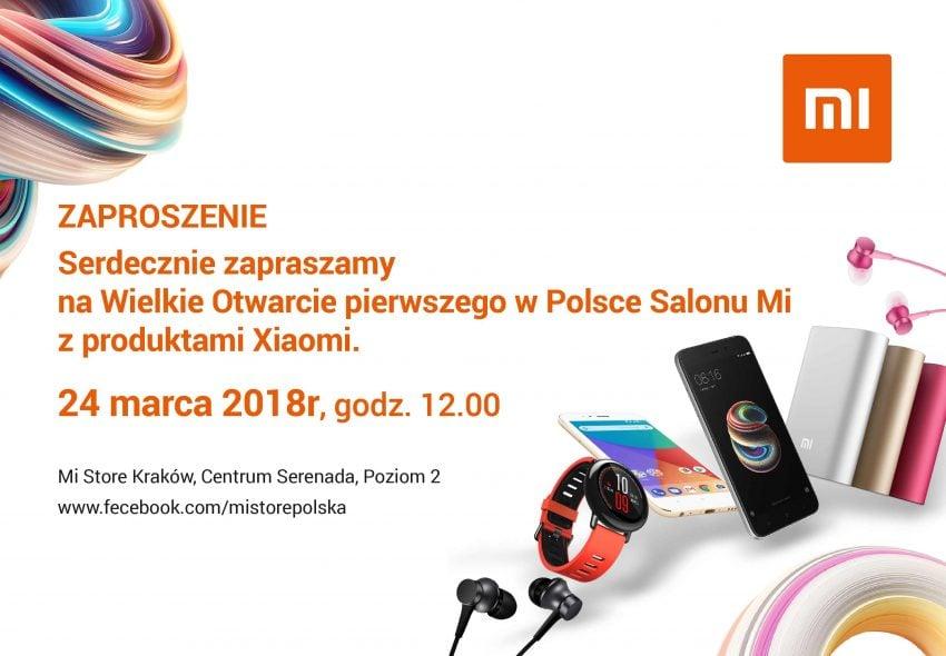 Tabletowo.pl Kapitalne ceny produktów Xiaomi podczas otwarcia Mi Store w Krakowie potwierdzone. Będzie się działo! Promocje Wydarzenia Xiaomi