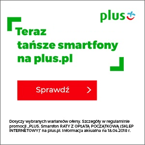 Teraz tańsze smartfony na plus.pl