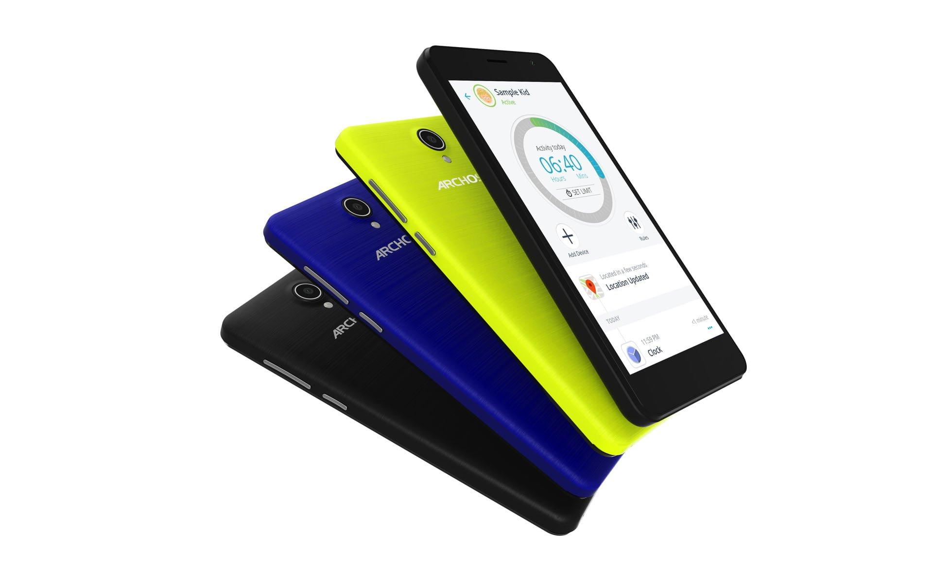 ARCHOS zapowiada nową linię smartfonów i tabletów dla najmłodszych - ARCHOS Junior 25