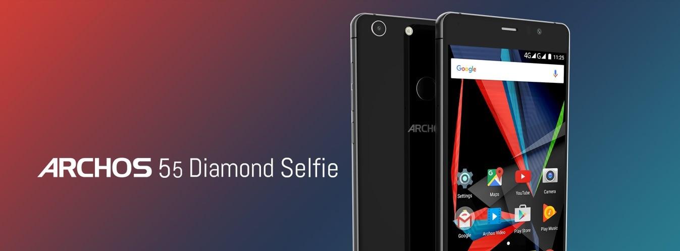 """Mega promocja: Archos 55 Diamond Selfie z 5,5"""" ekranem Full HD, 4 GB RAM i 64 GB pamięci za jedyne 499 złotych! 26"""