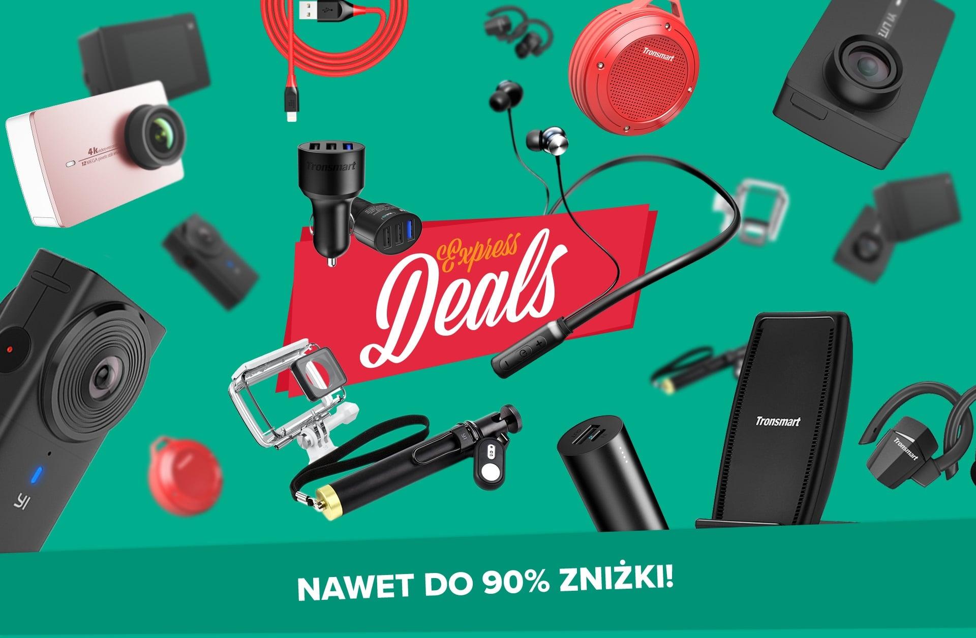Express Deals to okazja do kupienia urządzeń YI i Tronsmart nawet o kilkaset złotych taniej! 20