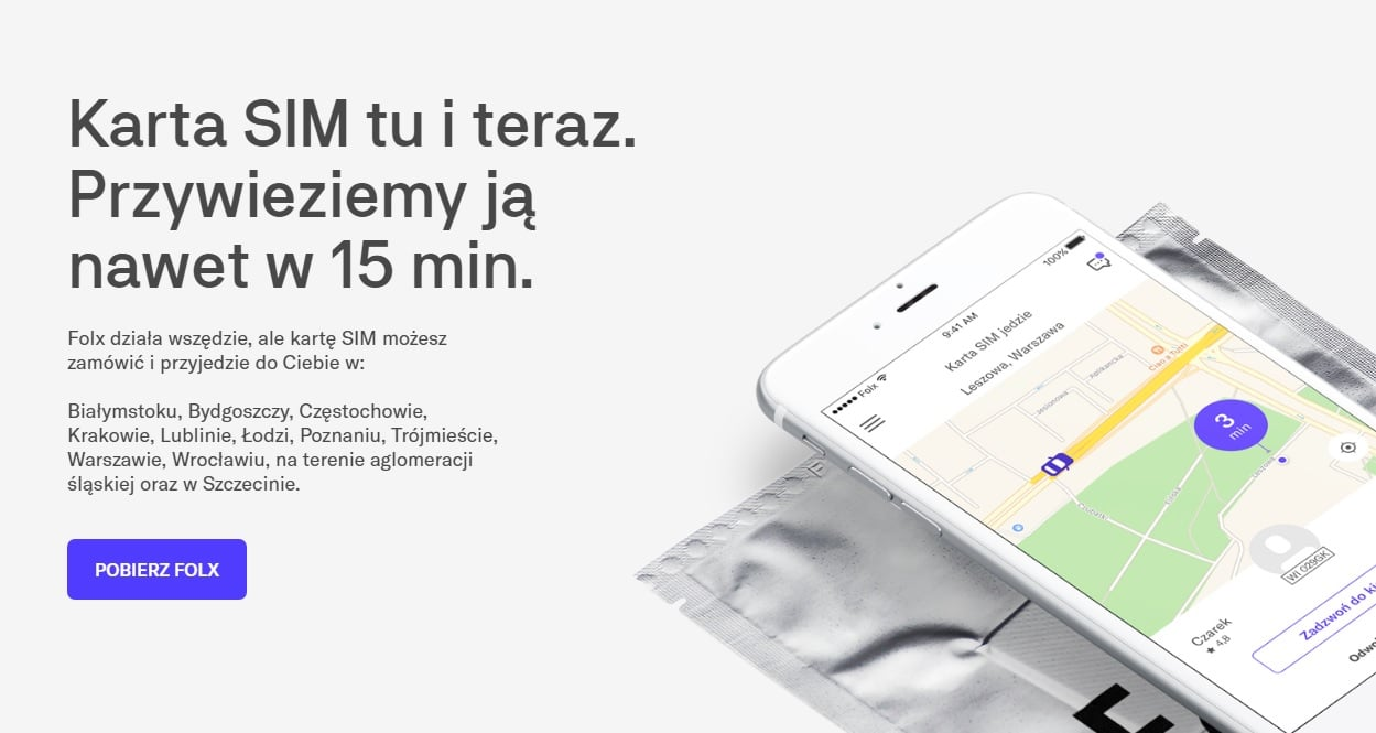 Tabletowo.pl Jeśli mieszkasz w tych miastach, to od dziś też bez problemu zamówisz kartę SIM sieci Folx GSM Nowości