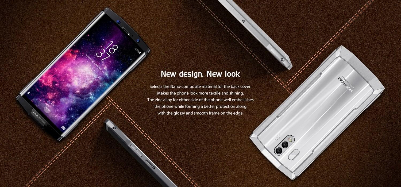 Tabletowo.pl Homtom HT70 ma baterię 10000 mAh i może się podobać, choć jego design jest dość oryginalny Android Chińskie Nowości Smartfony