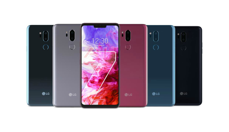 LG G7 ThinQ? Zobaczymy go 2 maja, właśnie takiego. Pięć kolorów do wyboru 16