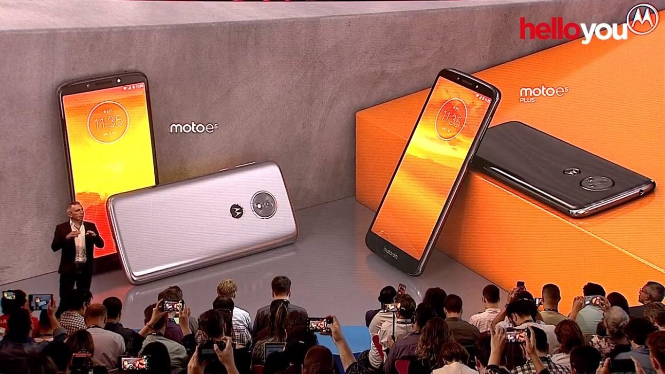 Motorola zaprezentowała też coś z niższej półki dla mniej wymagających: Moto E5, Moto E5 Plus i Moto E5 Play 17