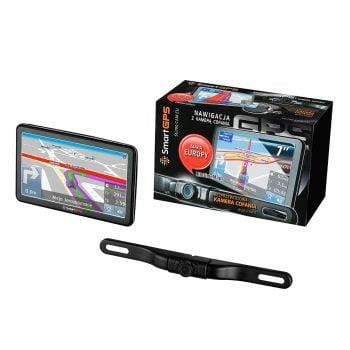 Tabletowo.pl SmartGPS wprowadza na rynek dwie nowe nawigacje samochodowe z kamerą cofania Moto Nowości