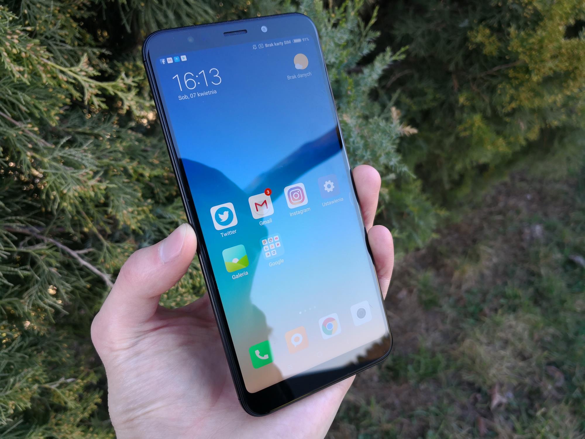 Tabletowo Recenzja Xiaomi Redmi 5 Plus Dawno nie używałem smartfona z aż tak