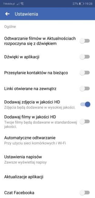 Tabletowo.pl Jak wyłączyć autoodtwarzanie filmów z dźwiękiem na Facebooku? Android Aplikacje Facebook Porady