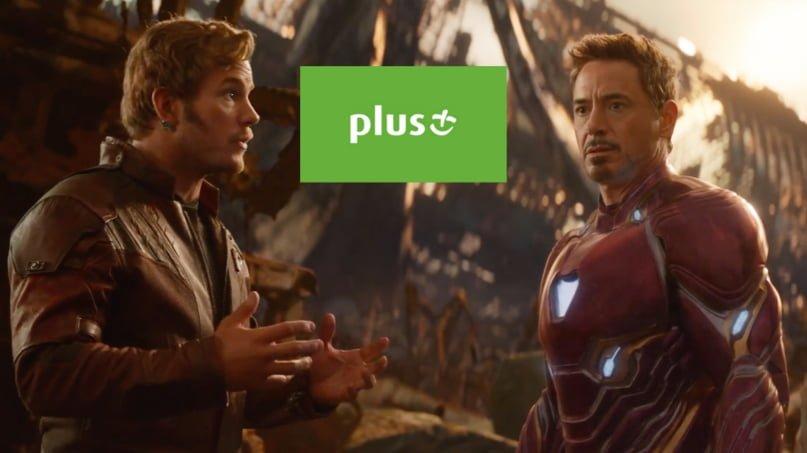 Wybierasz się do kina na Avengersów albo inny film? W Plusie za doładowanie min. 40 zł dostaniesz bilet do Cinema City 25