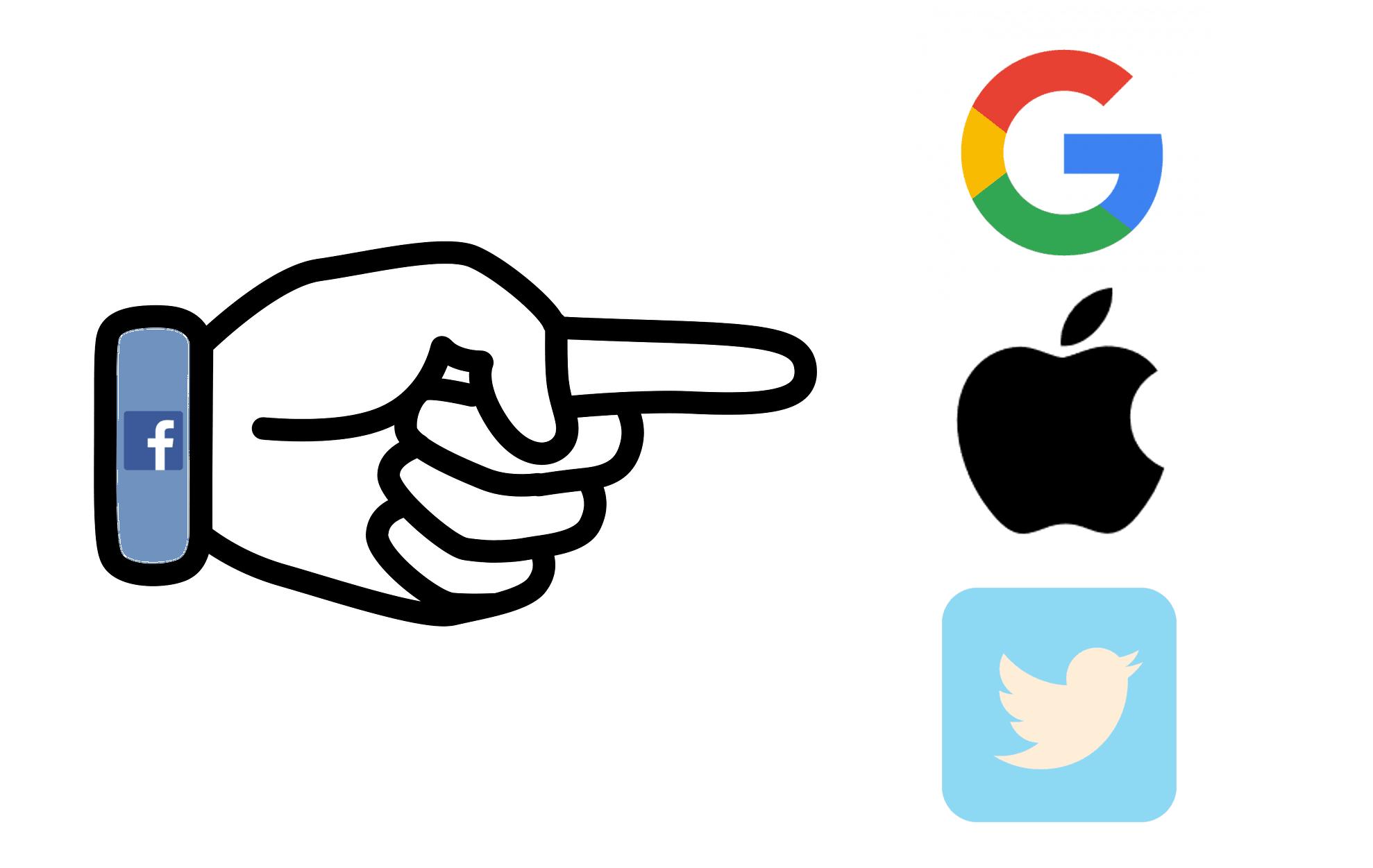 Tabletowo.pl 'Zbieranie danych o użytkownikach? Lepiej przyjrzyjcie się Google i Twitterowi' - czytamy na blogu Facebooka Aplikacje Bezpieczeństwo Facebook Google