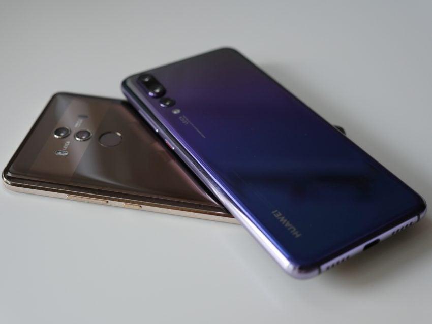 Tabletowo.pl Jeśli najlepszy smartfon od Huawei, to Mate 10 Pro czy P20 Pro? Porównanie flagowców Android Huawei Porównania Smartfony