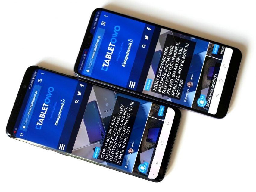Tabletowo.pl Porównanie: Huawei P20 Pro vs Samsung Galaxy S9+, czyli diabeł tkwi w szczegółach Android Huawei Nowości Porównania Samsung Smartfony