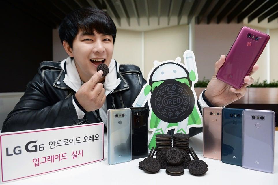 Będzie Android Oreo dla LG G5 i V20. Aktualizacja dla LG G6 już gotowa, najpierw trafi do Korei Południowej 15