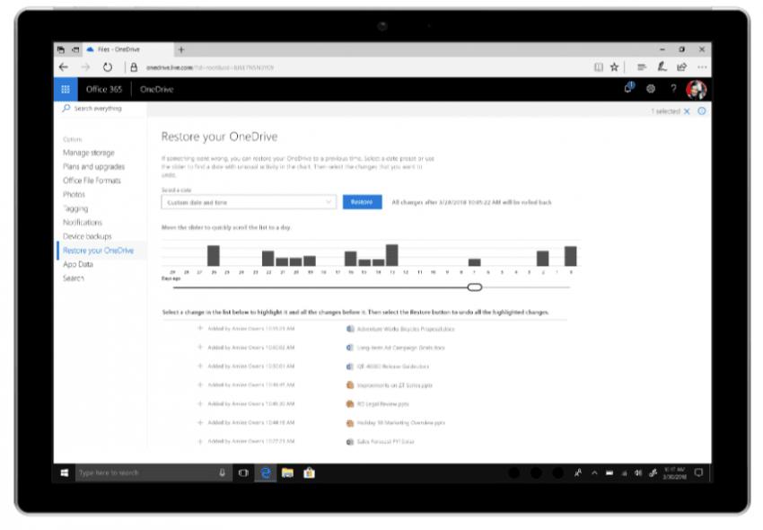 Nadchodzą zmiany w OneDrive - dzięki nim nawet atak typu ramsomware nie będzie straszny użytkownikom 22