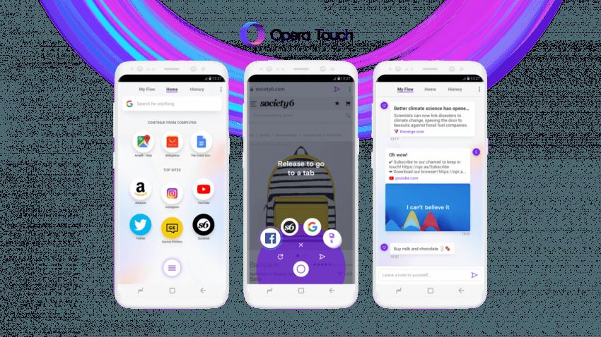 Tabletowo.pl Opera prezentuje nową przeglądarkę na Androida - Touch. Nareszcie coś się ruszyło! Aplikacje Nowości
