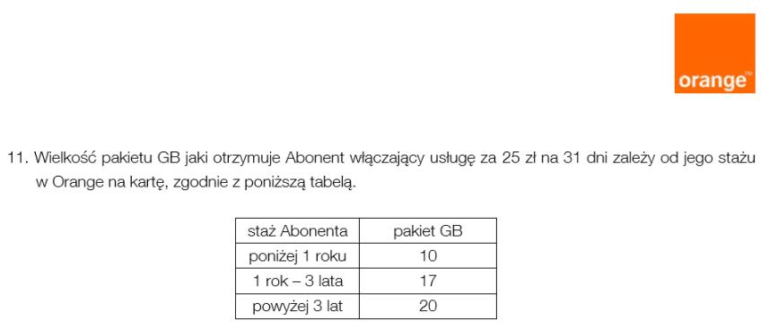 """Tabletowo.pl """"Halina, mam zawał! Zabierajo mie gigabajty!"""" - Orange zmienia warunki przyznawania bonusów za staż GSM"""