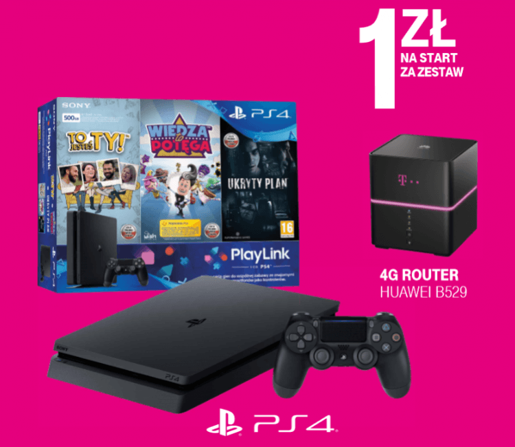 T-Mobile adds PlayStation 4 Slim home to the Internet