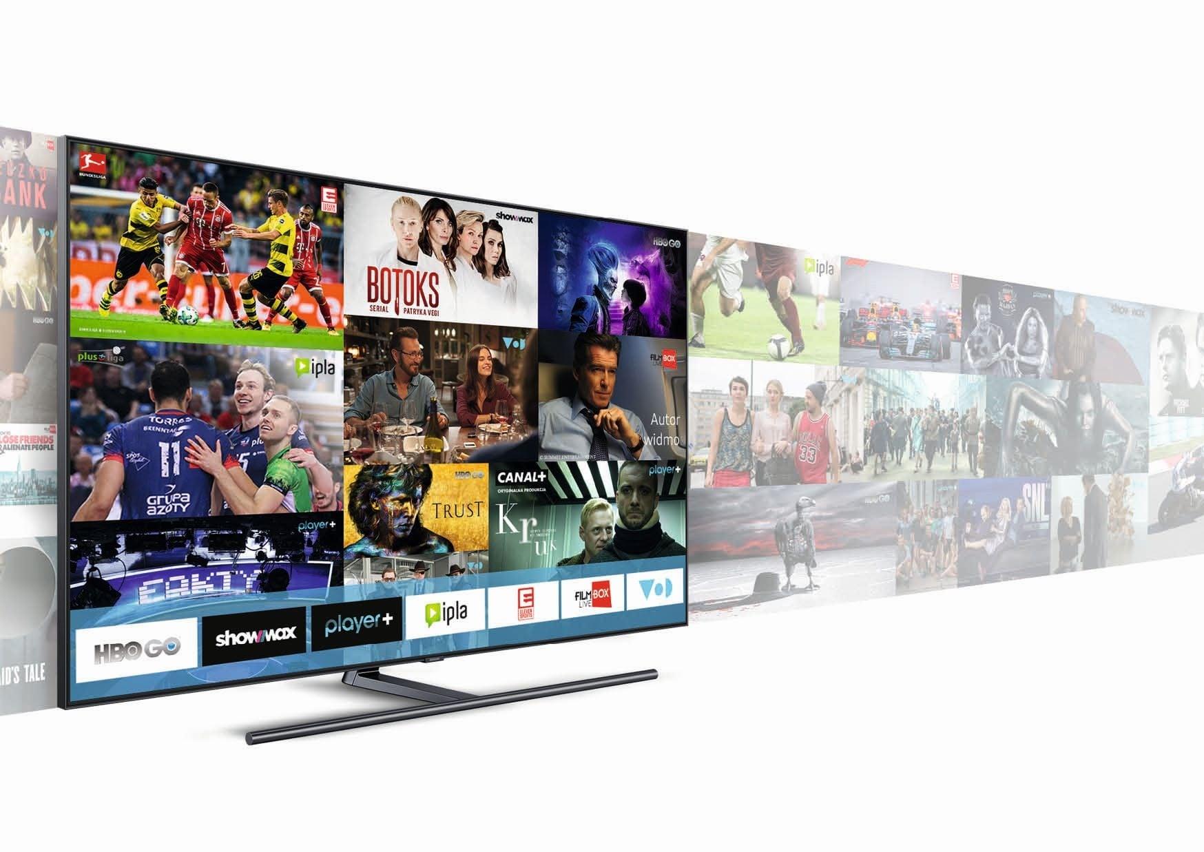 Tabletowo.pl Kupując telewizor Samsunga z 2018 roku dostaniesz bogatą ofertę usług VoD - na określony czas - za darmo Aplikacje Nowości Samsung TV