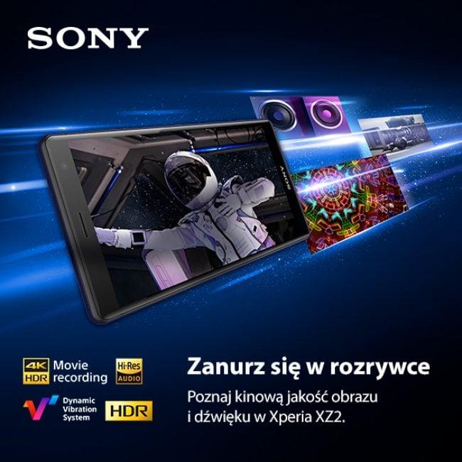Tabletowo.pl Sony zadowolone z wyników przedsprzedaży Xperii XZ2 w Polsce. Smartfon trafia do sklepów i operatorów Smartfony Sony