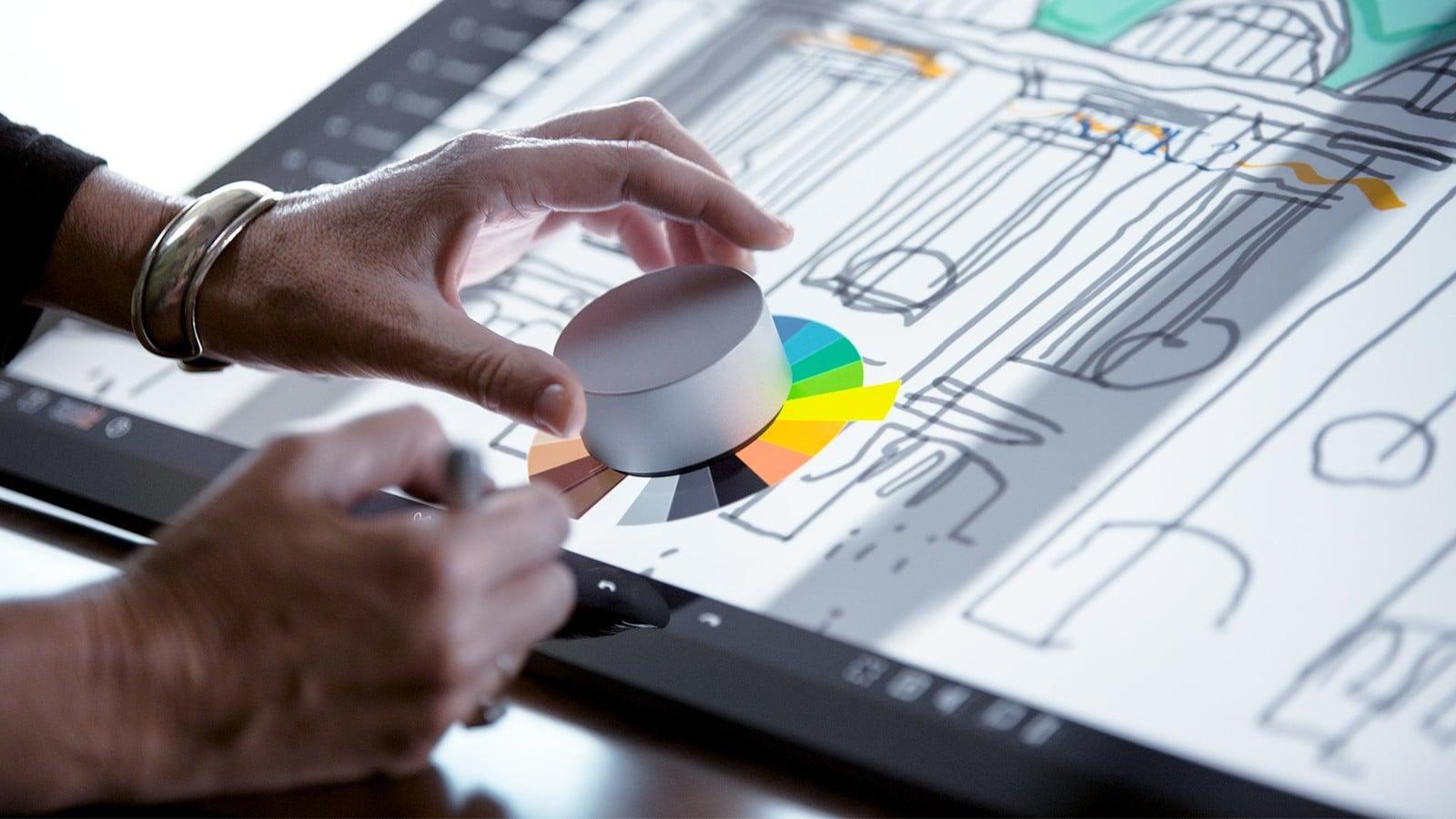 Złoty Szpadel dla Microsoftu! Surface Pro 4 otrzymał pełne wsparcie dla Surface Dial 17