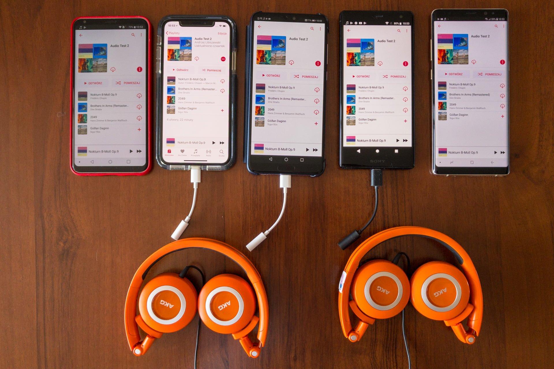 Tabletowo.pl Smartfony dla melomanów, czyli który flagowiec gra najlepiej? Sprawdziliśmy Android Apple Co kupić Huawei iOS LG Porównania Recenzje Samsung Smartfony Sony
