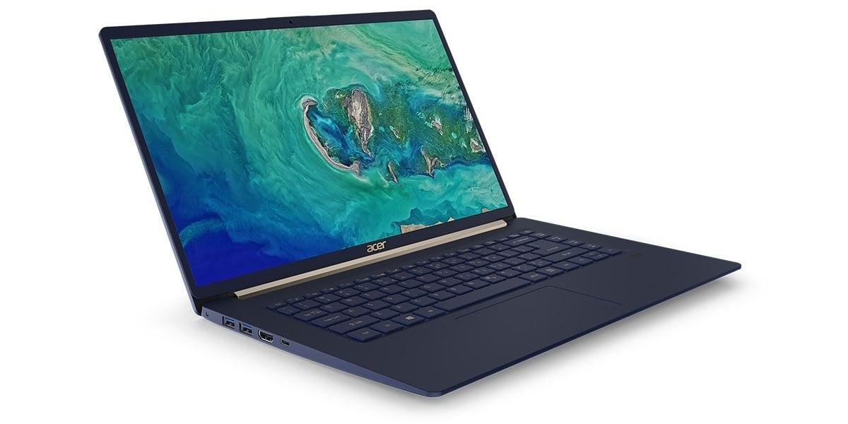 Acer Swift 5 w nowej wersji z 15,6-calowym wyświetlaczem, ale nadal waży mniej niż 1 kg 25