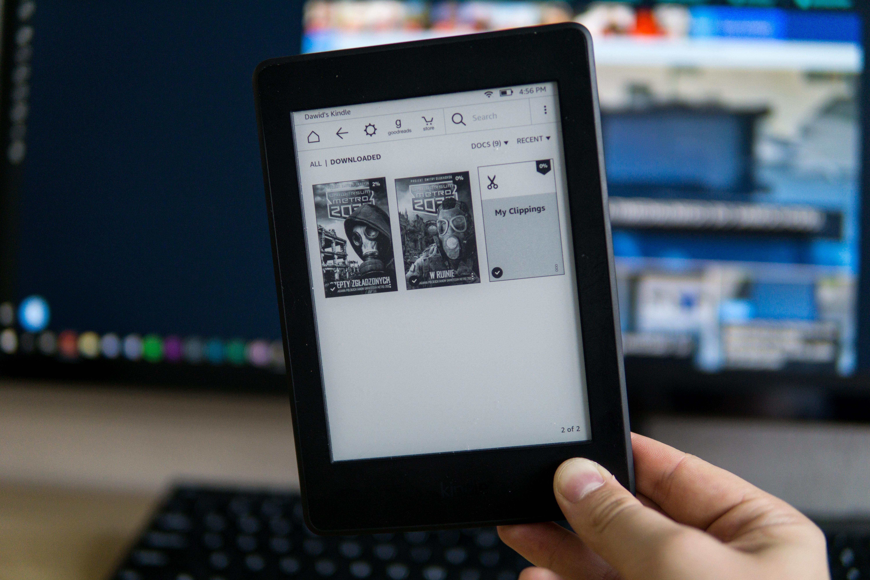Czytniki Kindle rejestrują dotknięcia ekranu. Wszystkie dotknięcia 20