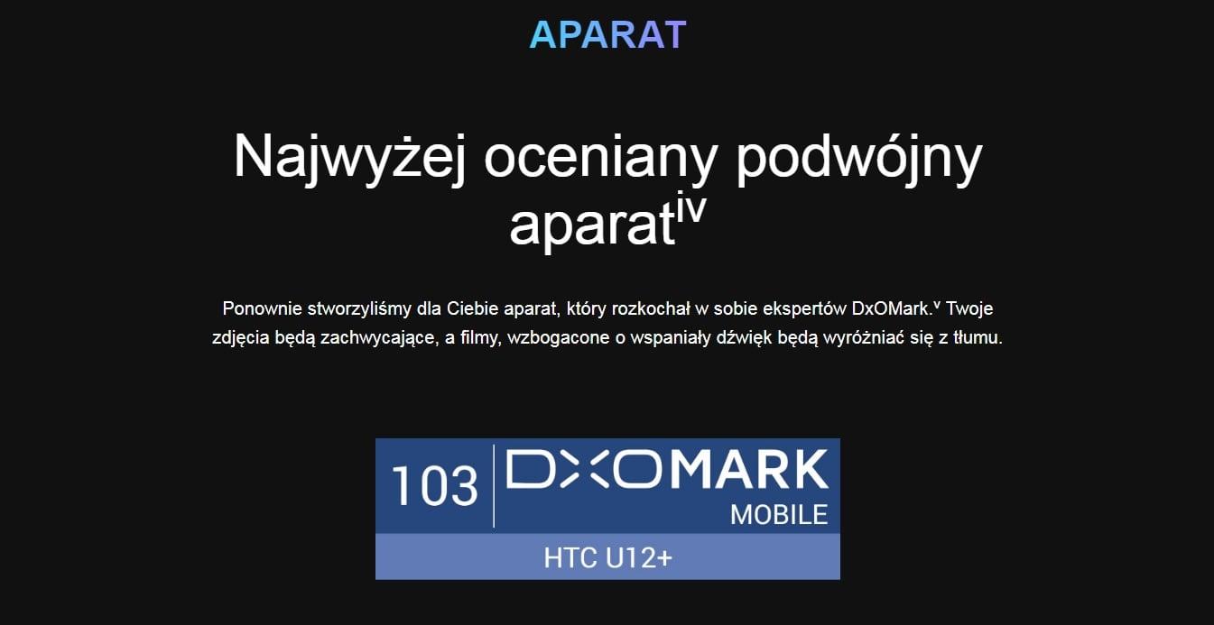 DxOMark ocenił aparat HTC U12+. Huawei powinien się przejmować wynikiem konkurenta? 22