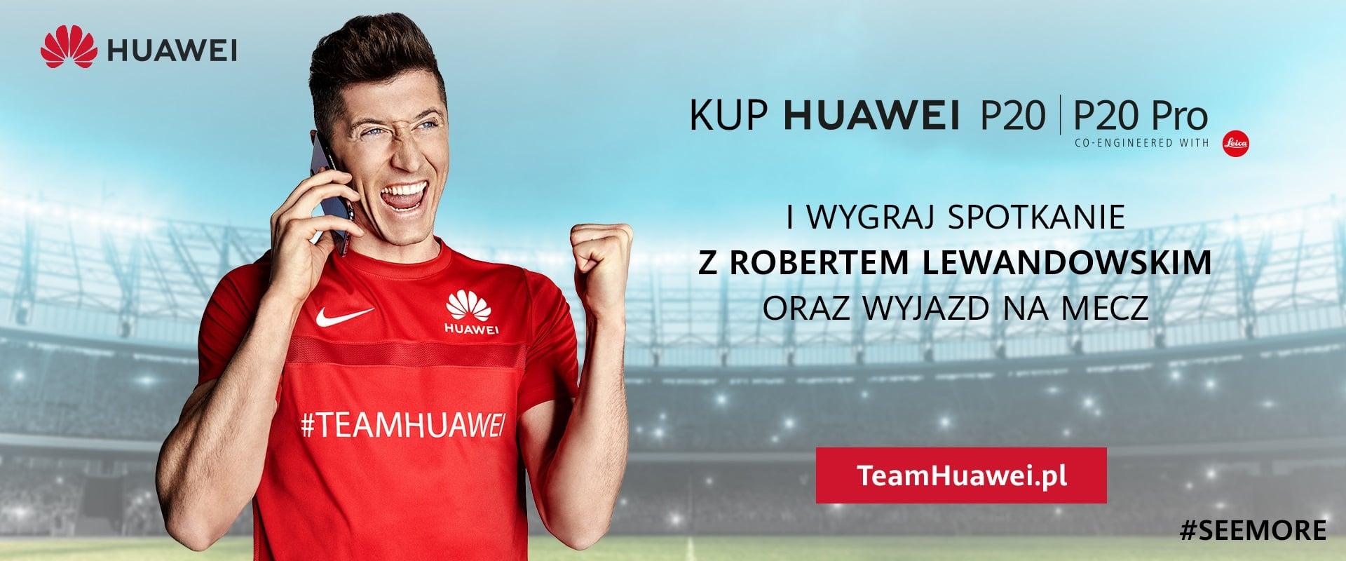 Tabletowo.pl Niepowtarzalna okazja: wygraj spotkanie z Robertem Lewandowskim i bilety na mecz ligowy z jego udziałem Android Huawei Konkursy Smartfony
