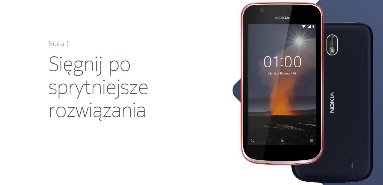 Wyciekła specyfikacja Nokii 1 Plus - budżetowca z Android Go 20