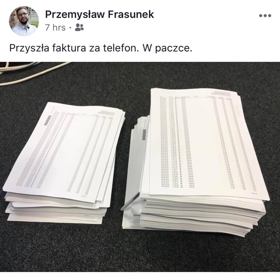 Tabletowo.pl Plus wysłał klientowi rachunek na 3000 stron. Nie zgadniecie, ile musiał zapłacić Ciekawostki GSM