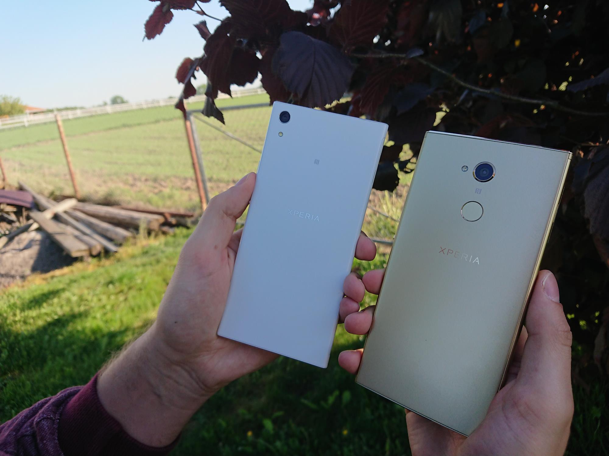 Porównanie smartfonów w rozmiarze XXL: Sony Xperia XA1 Ultra vs Sony Xperia XA2 Ultra 26