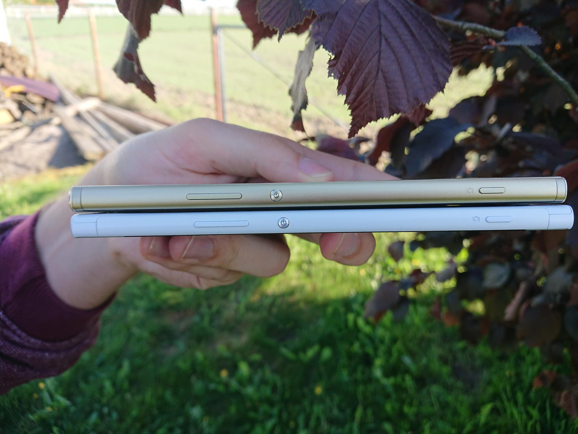 Tabletowo Por³wnanie smartfon³w w rozmiarze XXL Sony Xperia XA1 Ultra vs Sony Xperia
