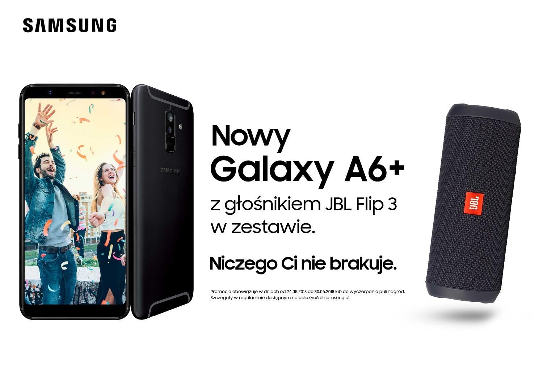 Tabletowo.pl No i teraz zakup Galaxy A6 i Galaxy A6+ się opłaca! Do tego drugiego Samsung dorzuca dodatkowo głośnik JBL Android Promocje Samsung Smartfony