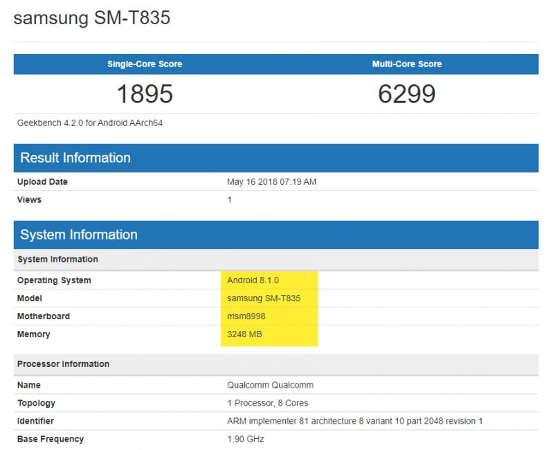 Tabletowo.pl Niektórzy powątpiewali w jego istnienie. Oto dowód na to, że Samsung pracuje nad Galaxy Tab S4 Plotki / Przecieki Samsung Tablety